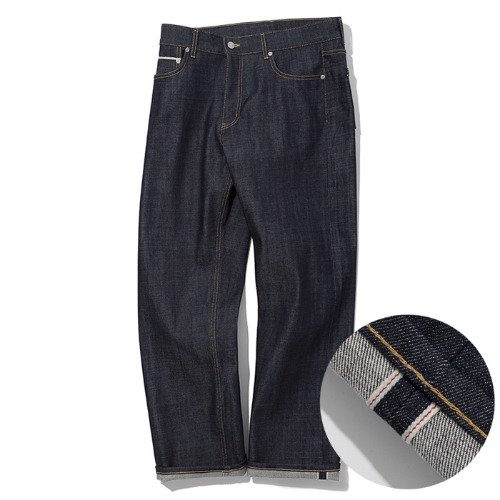 selvedge denim pants indigo