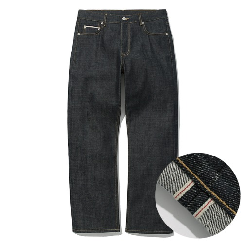 selvedge denim pants deep indigo