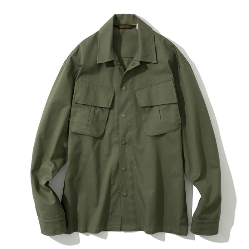 19fw jungle fatigue shirts khaki
