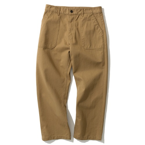 [예약배송] cotton fatigue pants L brown