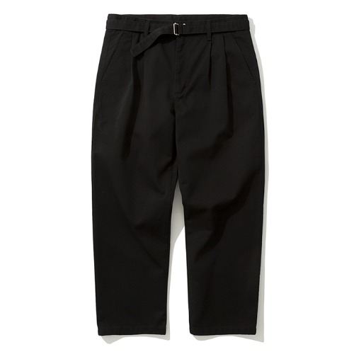 19fw crop chino pants black