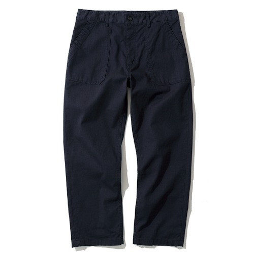 cotton fatigue pants navy
