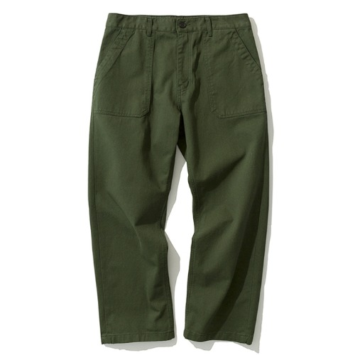 cotton fatigue pants forest