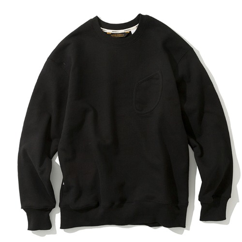 watch pocket sweatshirts black