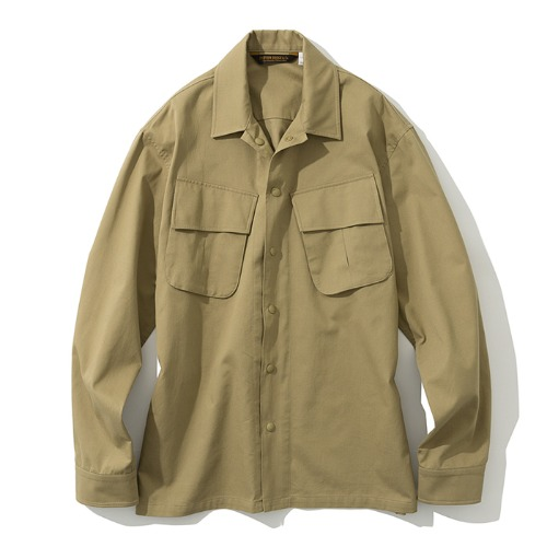 19fw jungle fatigue shirts beige