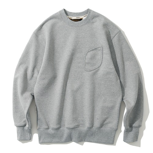 watch pocket sweatshirts grey