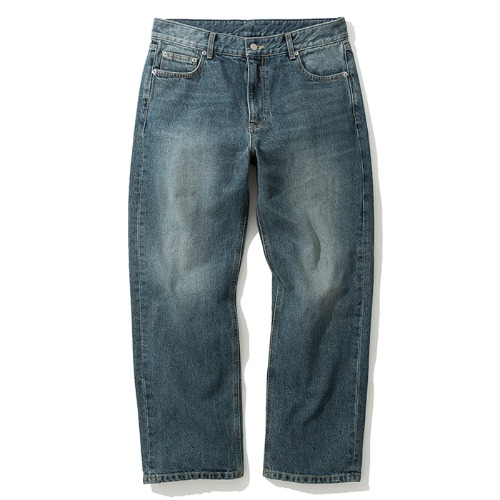 19fw comfort denim pants indigo washed
