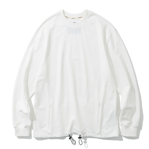 19fw MxU traveler L/S tee off white
