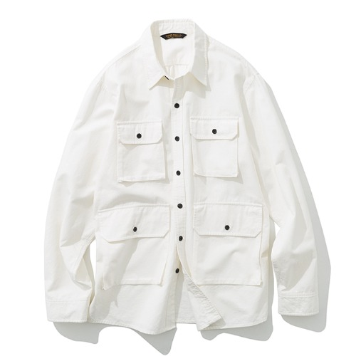 19fw 4pocket shirts jacket off white