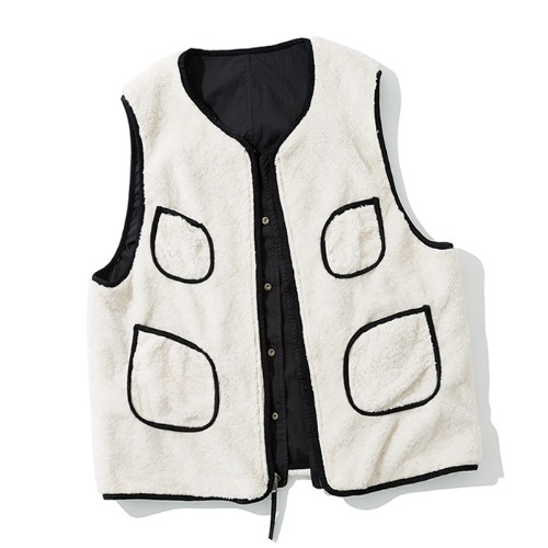 19fw reversible vest black
