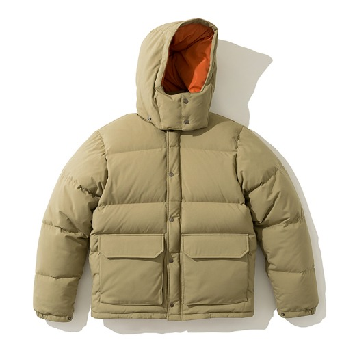 19fw mountain down parka beige