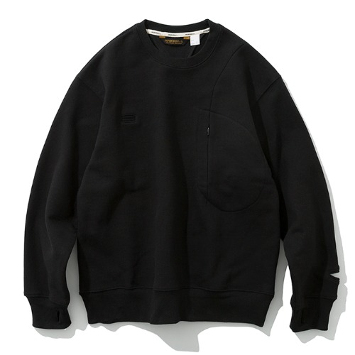 19fw MxU traveler sweatshirts black