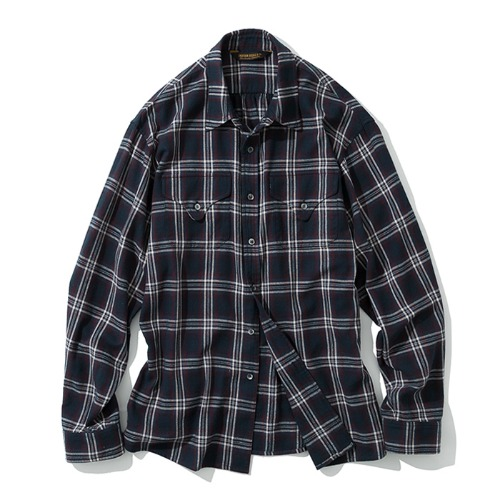 19fw two pocket shirts navy