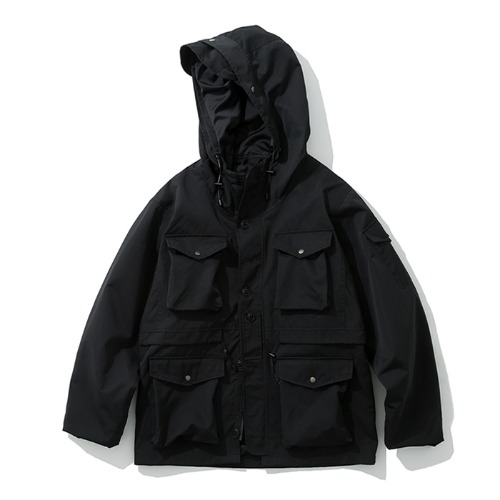 19fw battlefield jacket black