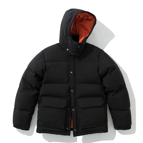 19fw mountain down parka black