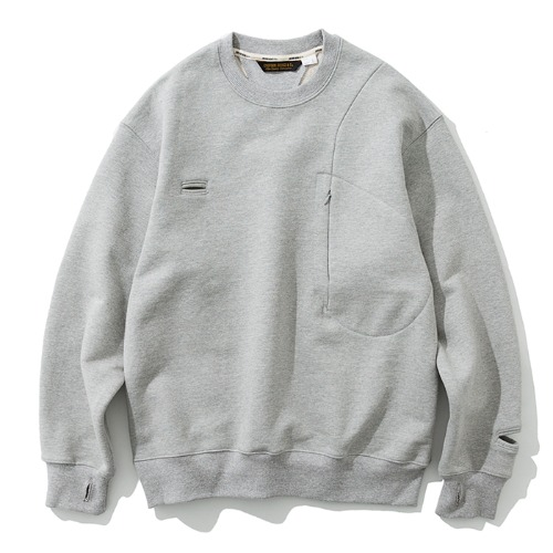 19fw MxU traveler sweatshirts grey
