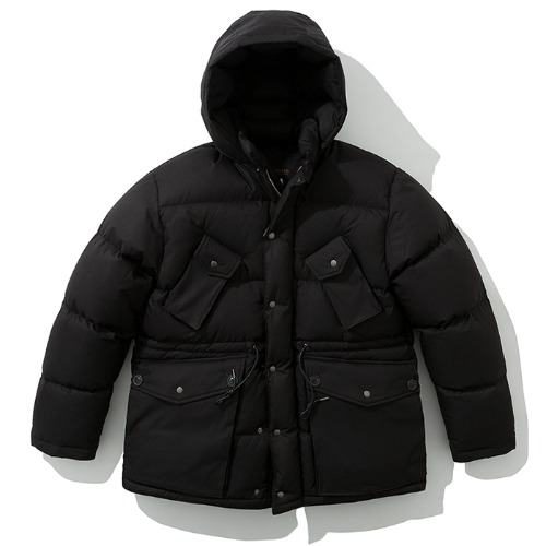 19fw shelter down parka black