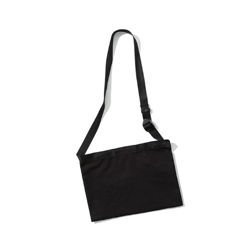 ripstop sacoche bag black