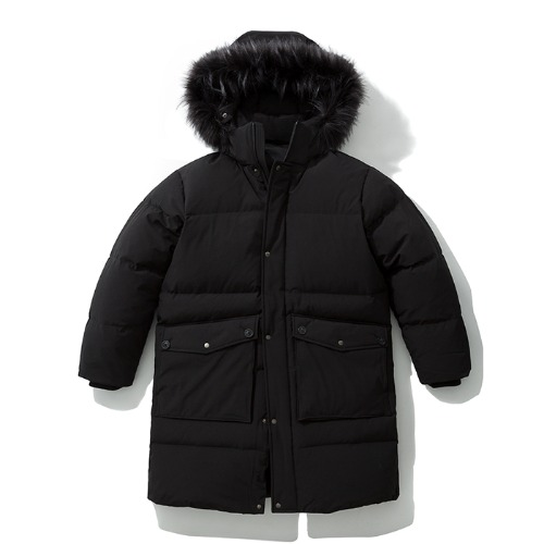 19fw npcw long down parka black