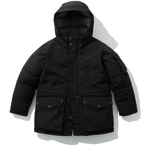 19fw arctic down parka black