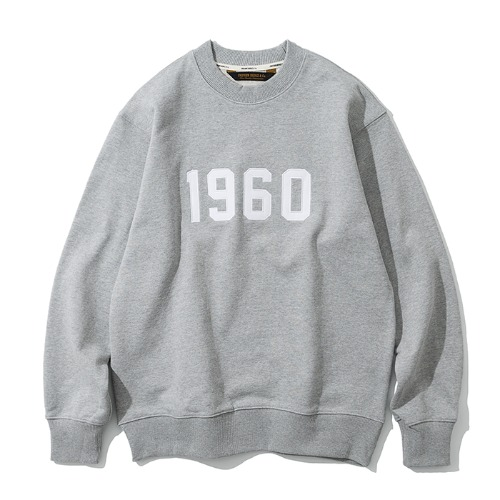 1960 sweatshirts grey