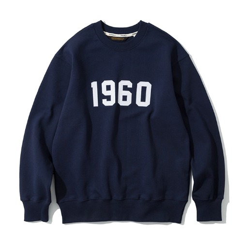 [예약배송] 1960 sweatshirts navy