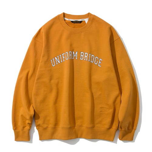 arch logo sweatshirts orange
