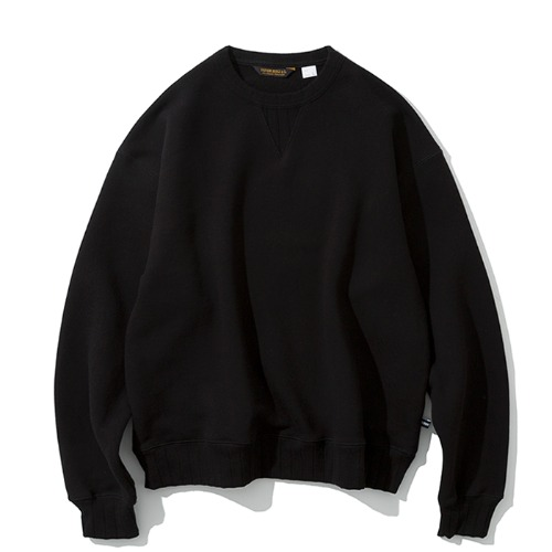 stripe rip sweatshirts black