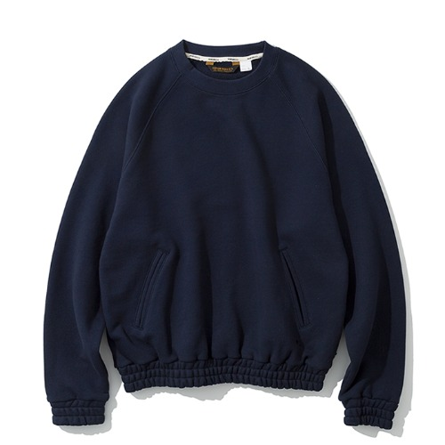 raglan pocket sweatshirts navy