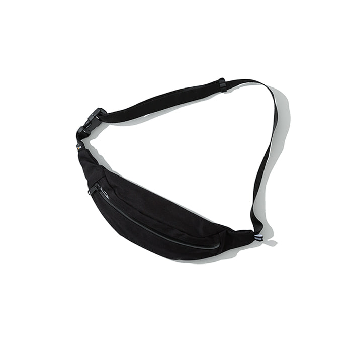 cordura waist bag black