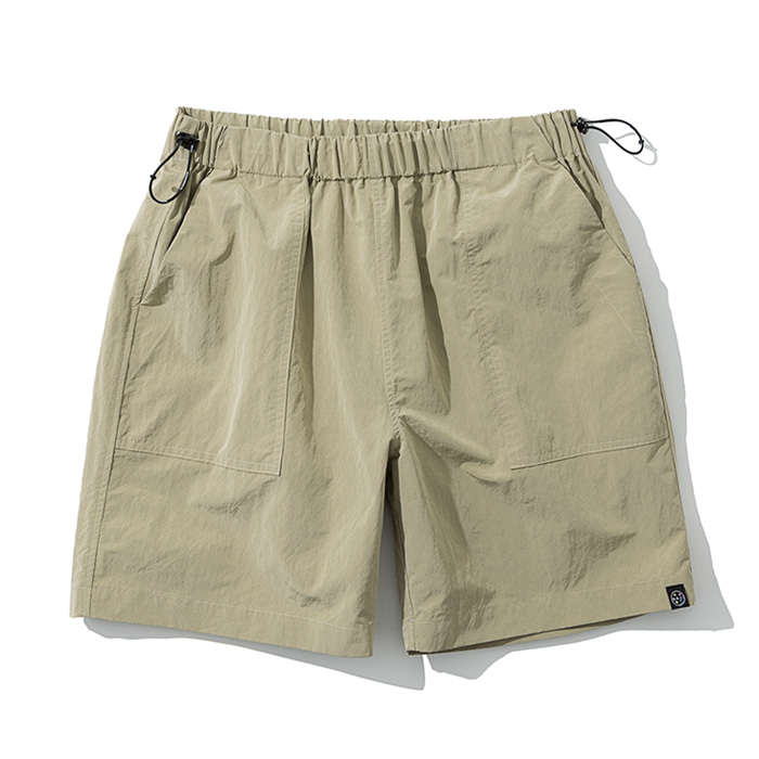 20ss UxM fatigue short pants beige