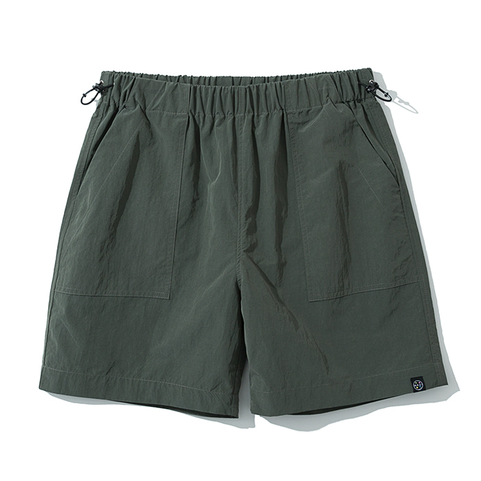 20ss UxM fatigue short pants khaki