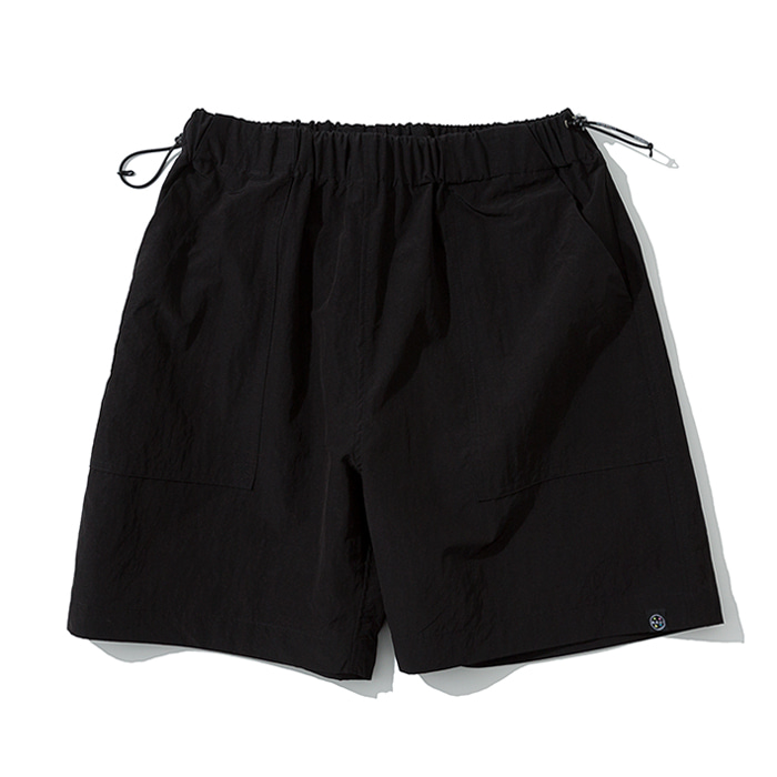 20ss UxM fatigue short pants black