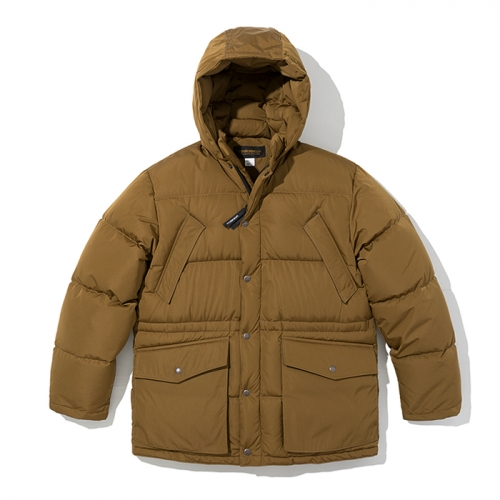 18fw shelter down parka brown