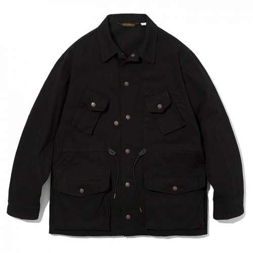 19ss canadian combat coat black