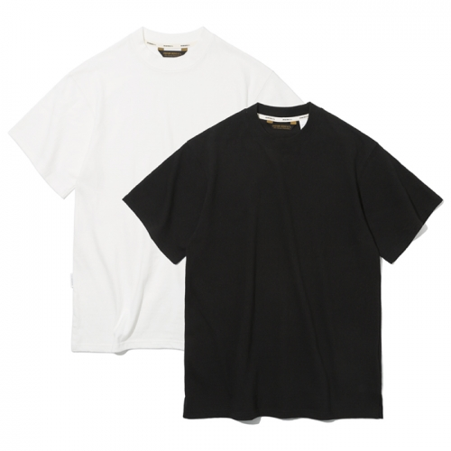 19ss 2pack s/s tee off white / black