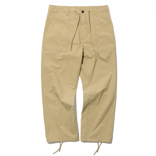 19ss summer fatigue pants beige