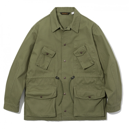 19ss canadian combat coat sage green