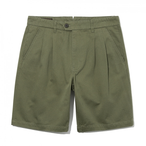 19ss two tuck chino shorts khaki