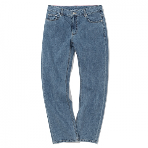 19ss washing denim pants indigo