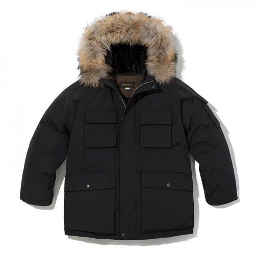 18fw arctic down parka black
