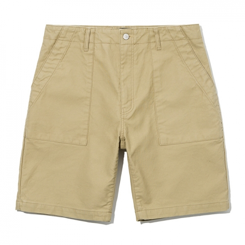 19ss og utility fatigue short pants beige