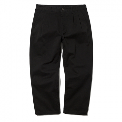 19ss crop chino pants black