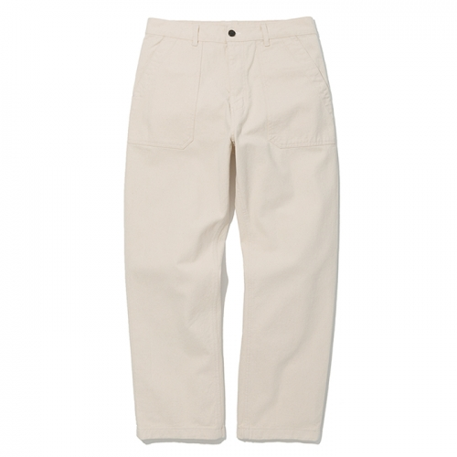 cotton fatigue pants natural
