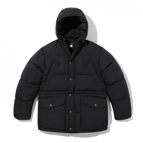 18fw shelter down parka black