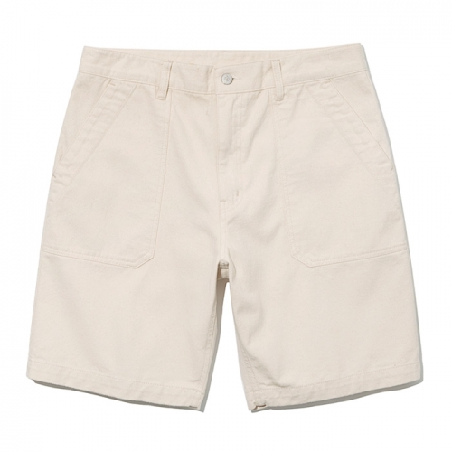19ss cotton fatigue shorts natural