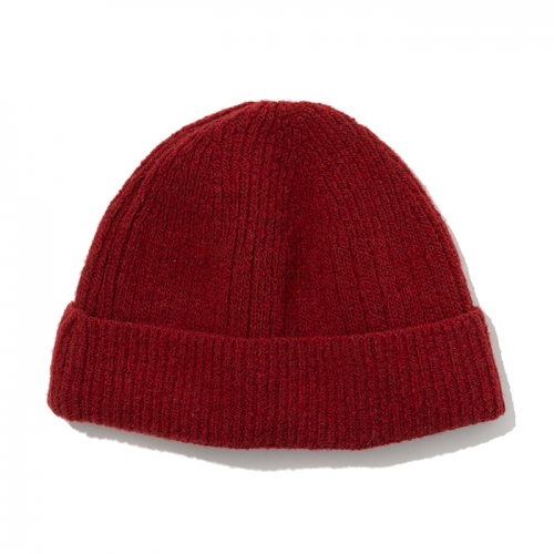 wool beanie red