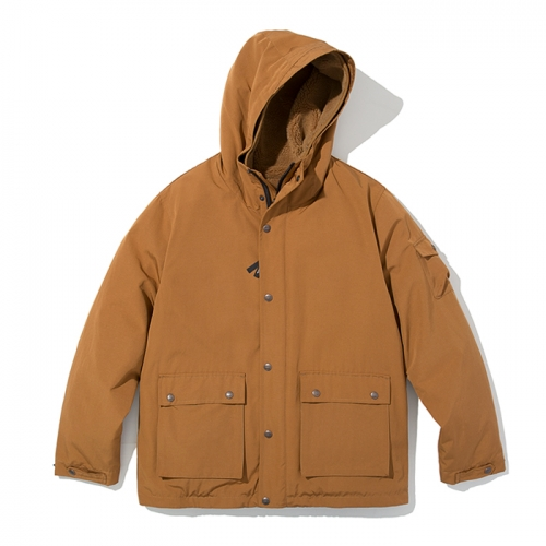 18fw mountain parka g orange