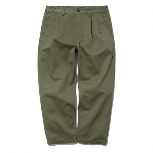 19ss crop chino pants khaki