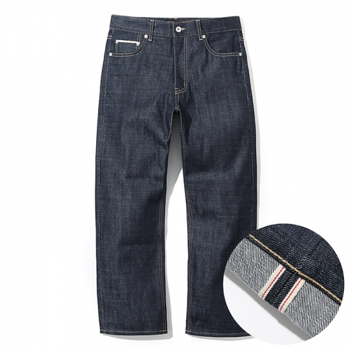 18ss selvedge denim pants deep indigo